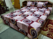 100% Cotton King Size Bed Sheet