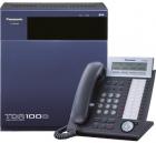Panasonic KX-TDA100D 48-Port Hybrid IP-PBX System