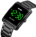 Skmei 1505 Stainless Steel Digital Watch for Women