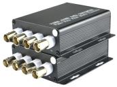 4 Channel Digital Video Optical Fiber Media Converter