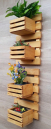 Pine Wood Garden Shelf