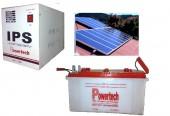 Solar IPS Package with 160Watt 4 Hours Backup