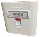 HDCS Single Shutter Rosenberger Face Plate