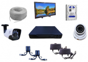 CCTV Package FVL-179m Camera with 500GB HDD