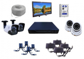 CCTV  Package FVL-845p Camera with 17