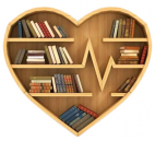 Heart Shaped Bookshelf
