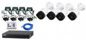 CCTV Package Dahua HAC-B1A21P 4-CH 2MP Camera
