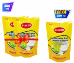 Almer Dishwash Liquid-250ml Pouch Pack Combo Offer