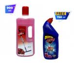 Almer Floor Cleaner Rose-900ml Combo Offer