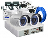 CCTV Package 2MP Camera with 500GB HDD