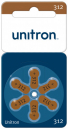 Unitron 312 Hearing Aid Battery