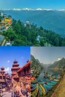 Nepal-Nagarkot-Kathmandu-Pokhara 4 Nights Tour Package