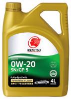 Idemitsu 0W-20 SN/GF-5 4L Fullly Synthetic
