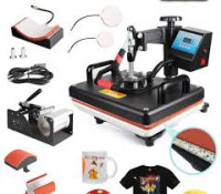 5-in-1 Combo Heat Press Machine for Plate / Mug / Stone
