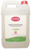Almer 5L Hand Sanitizer with Added Moisturizer