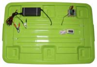 AC / DC Semi Automatic Mini 100 Egg Incubator