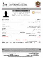 3 Month Validity Dubai Visa Processing
