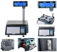 Rongta RLS1100 Barcode Weighing Label Scale