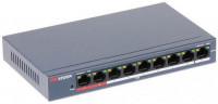 Hikvision DS-3E0109P-E/M(B) 8 Port Unmanaged PoE Switch