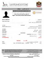 1-Month Validity Dubai Tourist Visa Processing