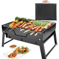 Portable Non Stick Heating Plates Bar-B-Q Set