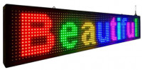 P10 Red Color Outdoor LED Moving Massage Display