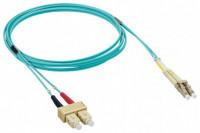 Rosenberger 3M SC-LC MM OM3 Duplex Fiber Patch Cord