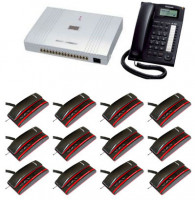 16 Line 16 Telephone Complete PABX Package