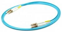 Rosenberger 2M LC-LC MM OM3 Duplex Fiber Patch Cord