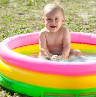 Baby Bathtub Swimming Pool with Air Pumper