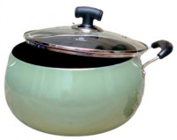 Noah 26.5cm Non-Stick Apple Belly Pot