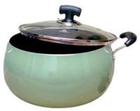 Noah 24.5cm Non-Stick Apple Belly Pot