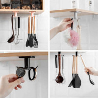 360 Degree Rotating Kitchen Organizer Utensil Holder