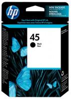 HP 45 Black Original Ink Printer Cartridge
