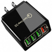 USB 3.0 4-Port Quick Charger