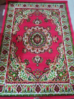 Red Color Synthetic Carpet