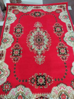 Stylish Red Color Smooth Carpet