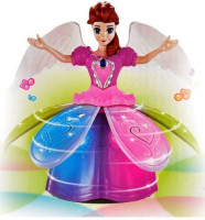 Dancing Angel Girl Toy with Flashing Lights And Music