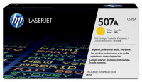 HP 507A Yellow Genuine LaserJet Toner