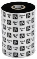 Zebra 3200BK Wax / Resin Thermal Transfer Ribbon