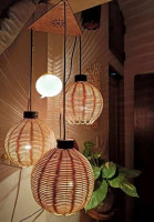 Round Shaped Hanging Lamp