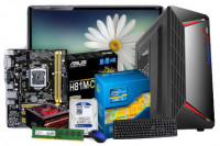 """Intel Core i3 4th Gen Desktop PC with 19"""" LED Monitor"""