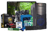 "Desktop PC Core i5 6th Gen with 8GB RAM 19"" LED Monitor"