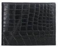 Shainpur SN-W04 Crocodile Print Leather Wallet