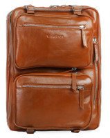 Shainpur SN-B06 Multifunctional Brown Color Leather Bag