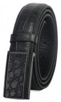 Shainpur SN-B09 Crocodile Print Leather Belt