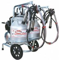 Oncel Oc.1008 Double Milking Machine with Double Bucket