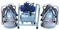 Oncel Oc.1016 Fixed Milking Machine with Double Bucket