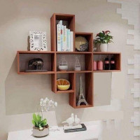 Wooden Wall Decoration Rack