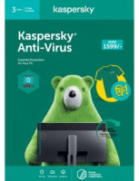 Kaspersky Anti-Virus 3 PC 1 Year